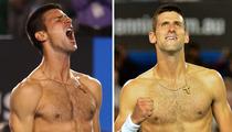 Tennis Star Novak Djokovic -- The Shirtless Win