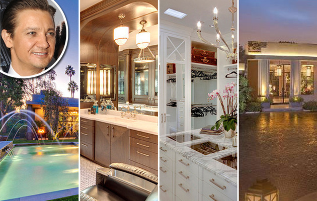 Jeremy Renner Flips Mega Mansion -- See The Pics!