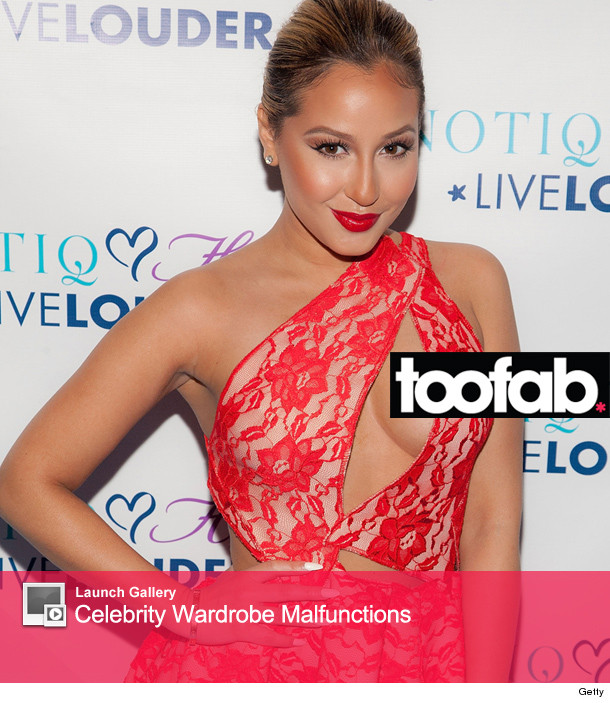 Much prompt Adrienne bailon wardrobe remarkable, rather