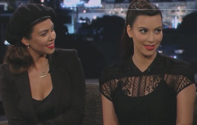 Kim K. on Kimmel: My Baby's Going to Wear Chains!