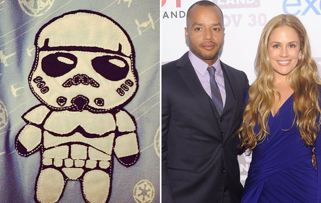 Baby on Board for CaCee Cobb and Donald Faison!