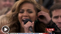 Beyonce Sings National Anthem LIVE -- Suck It, Haters!!!!!!!!!!!!!
