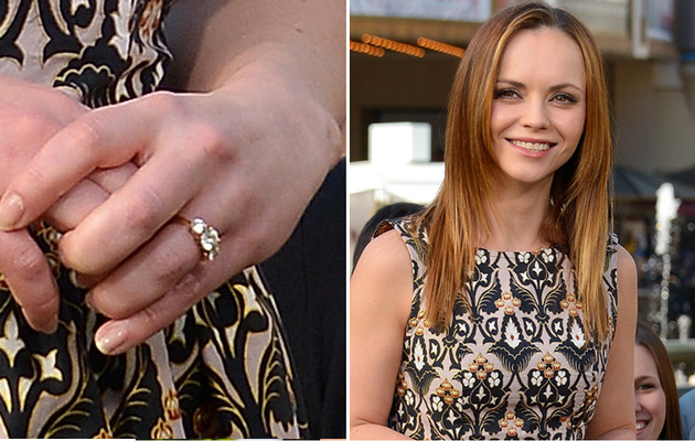 Christina Ricci is Engaged!