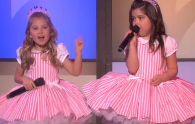 Sophia Grace & Rosie Are Back -- And Singing Taylor Swift