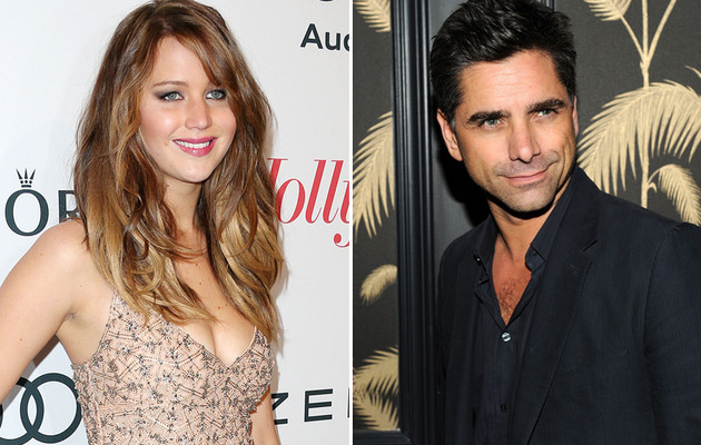 Jennifer Lawrence: John Stamos Thought I Was On Mushrooms