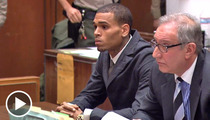 Chris Brown -- Shows Up to Court WITH RIHANNA!!!