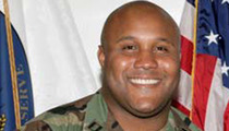 Christopher Dorner Manhunt -- LAPD Cop Killer Left Messages for Tim Tebow, Charlie Sheen, Larry David