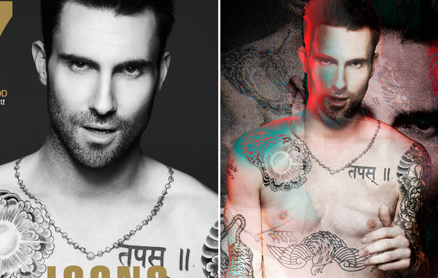 Adam Levine: Hardcore & Shirtless for 7Hollywood!