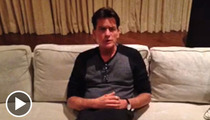 Charlie Sheen Pleads with Christopher Dorner ... CALL ME!!!