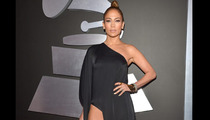 Jennifer Lopez -- Give CBS the Leg!