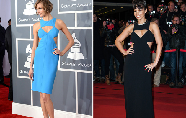 Dueling Dresses: Karlie Kloss vs. Alicia Keys