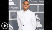 Chris Brown -- Earns Award for Worst Grammy Weekend