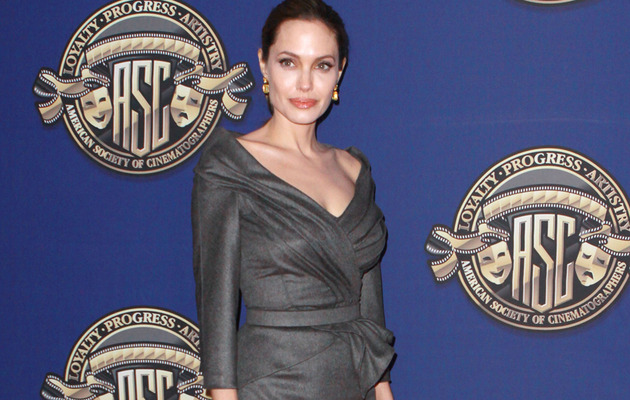 Angelina Jolie Is Toe Up