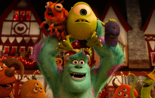 """Monsters University"" Trailer Shows How Creatures Do College"