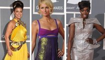Grammy Fashion's Fabs-N-Flops!