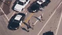 Christopher Dorner Shootout -- Cop Dies From Gunshot Wound