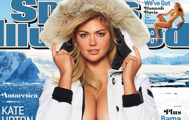 Video: Kate Upton's Subzero Bikini Shoot
