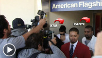 Kim Kardashian & Kanye West -- TSA Investigating Airport Security Violation [Update]