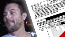 IRS to Kevin Federline -- You Owe Us $57,000 ... Pay It Now