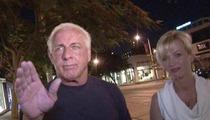 Ric Flair -- I Need Protection from My Drunk Glass-Wielding Wife!!!