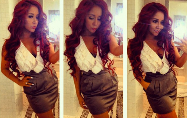 Snooki Flaunts Slim Figure in New TwitPic!