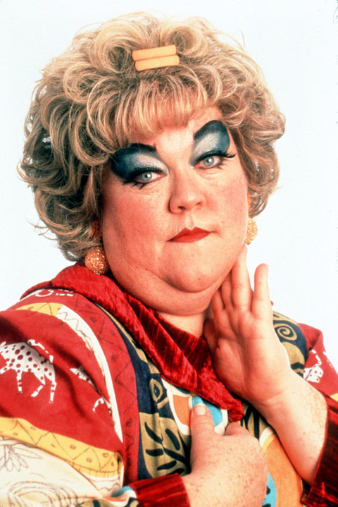 "Kathy Kinney garnered fame in the '90s playing heavily pancaked secretary Mimi Bobeck on ""The Drew Carey Show."""