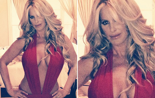Kim Zolciak Flaunts Post-Baby Bod in Sexy Swimsuit