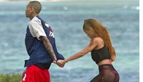 Rihanna -- 25th Birthday with Chris Brown ... and TINY BIKINI