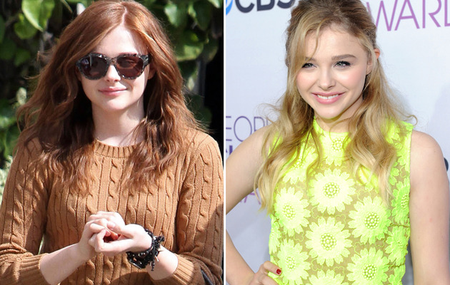 Better Redder? Chloe Grace Moretz Dyes Her Hair!