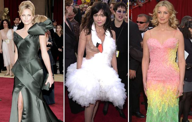 Worst Dressed Stars of Academy Awards' Past!