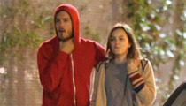 Adam Brody & Leighton Meester -- First Photo Together