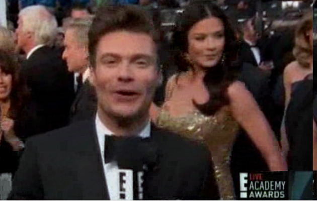 Did Ryan Seacrest Diss Catherine Zeta-Jones at the Oscars?