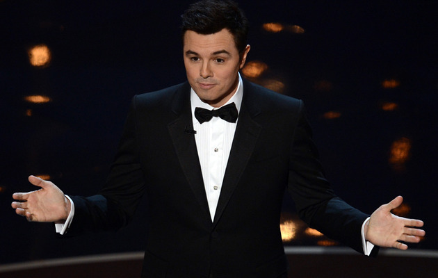 Seth MacFarlane Opens Oscars with Chris Brown & Rihanna Joke