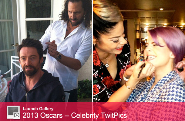 2013 Academy Awards -- Celebrity TwitPics!