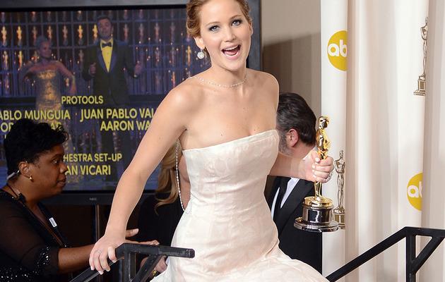 Jack Nicholson Hits on Jennifer Lawrence After Oscar Win