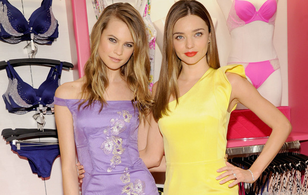 Miranda Kerr and Behati Prinsloo Get Fabulous In New York!