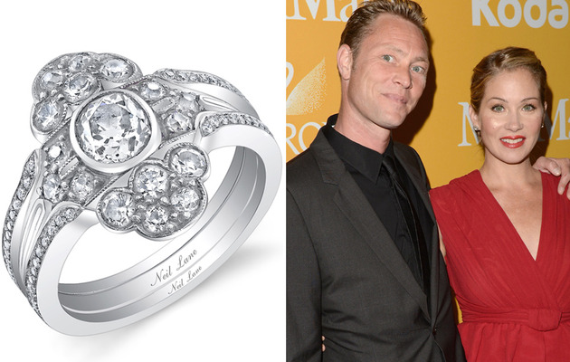 Check Out Christina Applegate's Massive Wedding Ring