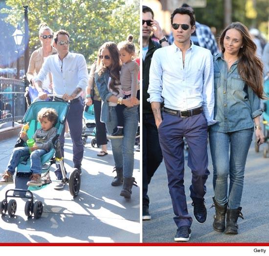 Jennifer Lopez And Marc Anthony Kids 2013