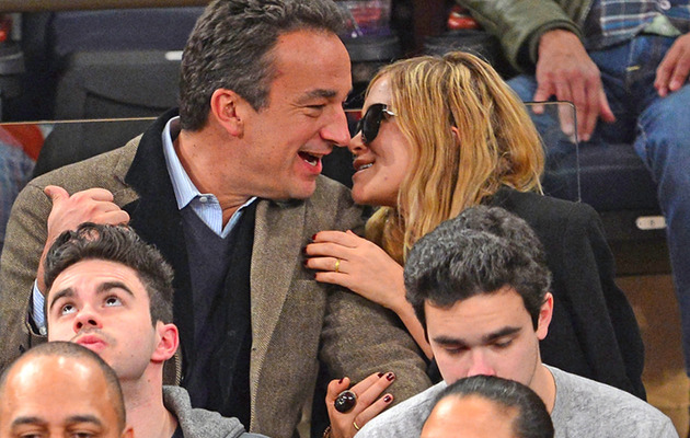 Mary-Kate Olsen & Olivier Sarkozy Just Love Showing PDA