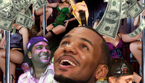 Rappers Jim Jones, The Game, Bizzy Bone -- Deducting 'Making-It-Rain' Expenses Is Legit!!!