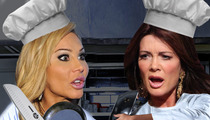 Lisa Vanderpump vs. Adrienne Maloof -- RESTAURANT WAR!