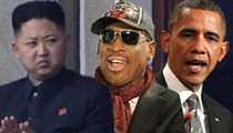 Dennis Rodman -- Returning to North Korea to Broker Peace Deal