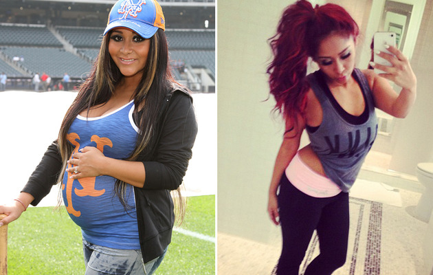Snooki Flaunts 42-Pound Weight Loss