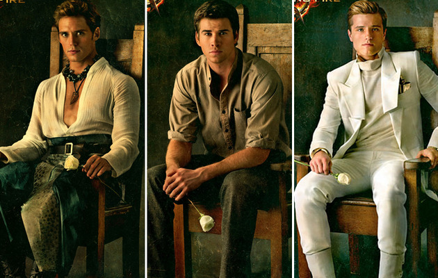 """""""The Hunger Games: Catching Fire"""" Men -- Who's Hottest?"""