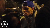 Chris Brown Explodes -- NEW VIDEO of Valet Incident ... MORE VIOLENT THREATS