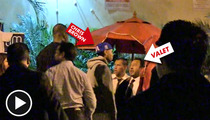 Chris Brown EXPLODES AT VALET ... Over $10 Service Charge