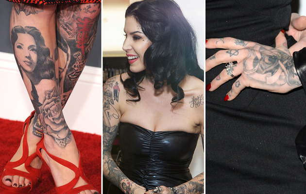 Kat Von D Turns 31 -- See Her Kraziest Tattoos!