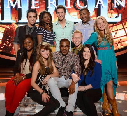 "Half Cut on ""American Idol"" -- Meet Your Top 10!"