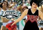 Philadelphia Eagles Cheerleaders -- WE WANT PARIS JACKSON!