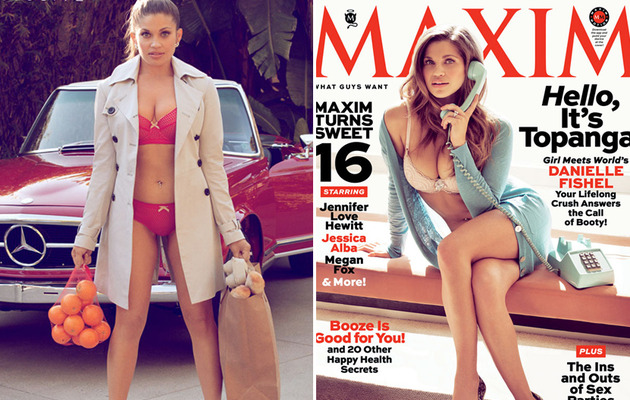 Danielle Fishel (AKA Topanga) Covers Maxim!